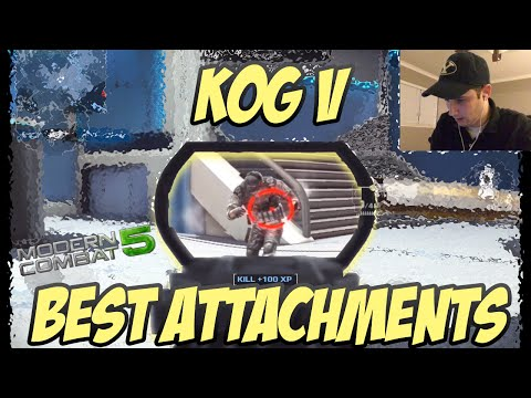 Kog Gameplay - Modern Combat 5 - OP Weapon w/ Silencer Attachment