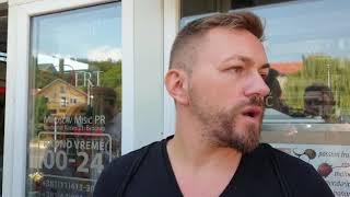 Ivan Gajić o sukobu novinara sa Vladimirom Tomovićem