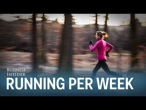 How many miles you should run per week