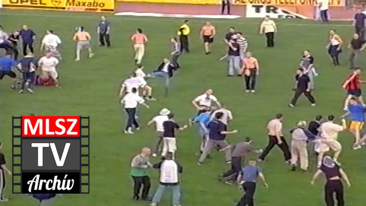Újpest-Honvéd | 0-0 | 2000. 04. 21 | MLSZ TV Archív