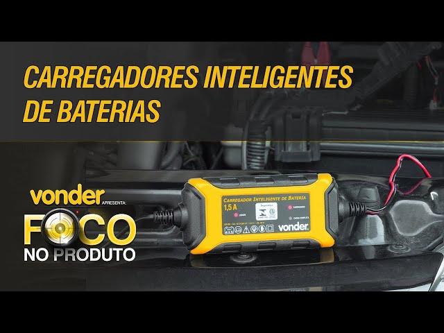 O CARREGADOR REVOLUCIONARIO !!! - VONDER CIB 003 MOTO VD