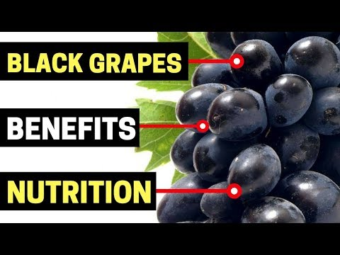 Black Grapes Health Benefits and Black Grapes Nutrition Facts