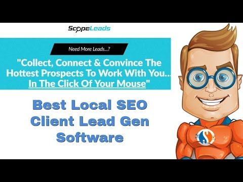 Best Local SEO Client Lead Gen Tool - Scopeleads Review