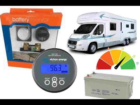Look over the Victron Battery Monitor BMV700