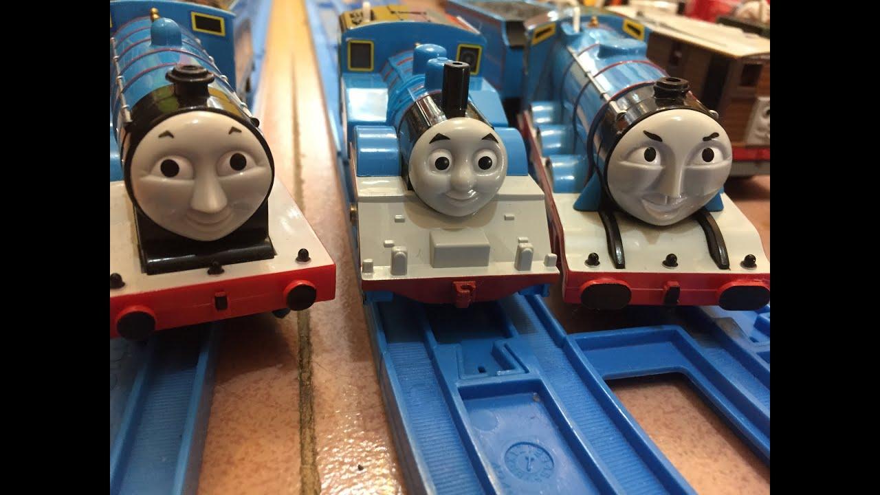 trenes de jugueteThomas y sus amigos Thomas Edward y Gordon