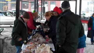 Casey Visits the St. Paul  Winter Farmers' Market