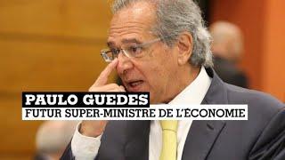 Paulo Guedes, gourou économique du nouveau président brésilien