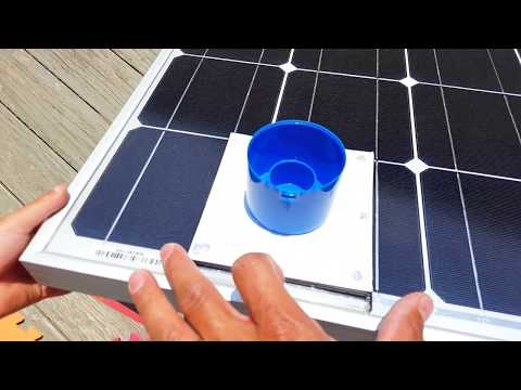 Renogy 100 Watt Solar Panel Test (Solar Noon)