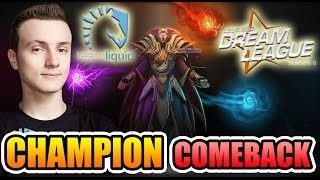 Miracle- Dota 2 - DreamLeague FINAL - The CHAMPION COMEBACK