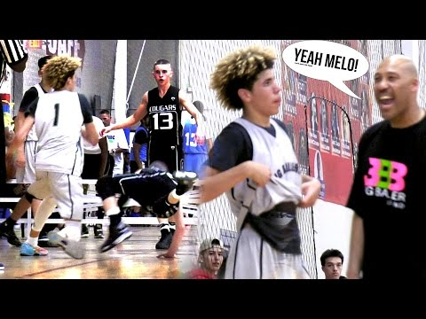 LaMelo Ball Wins Game With .6 Seconds Left! SAVES BIG BALLERS FROM AAU L!!