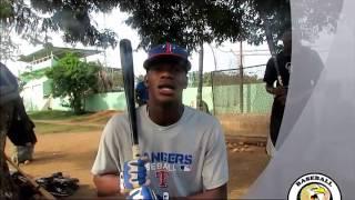 Starling Joseph / Texas Rangers Baseball Player ( Aguila Baseball Academy)
