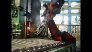 big bent axle automatic forging line
