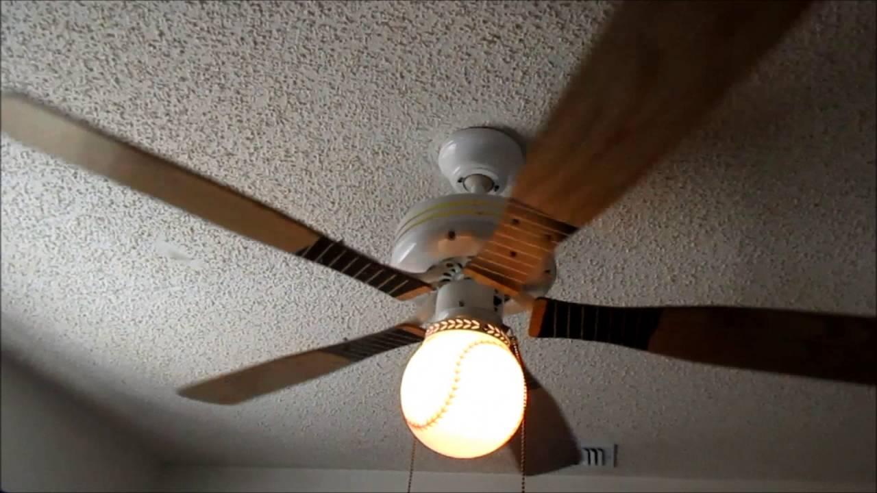 Ja Yang Baseball Bat Ceiling Fan 1080p