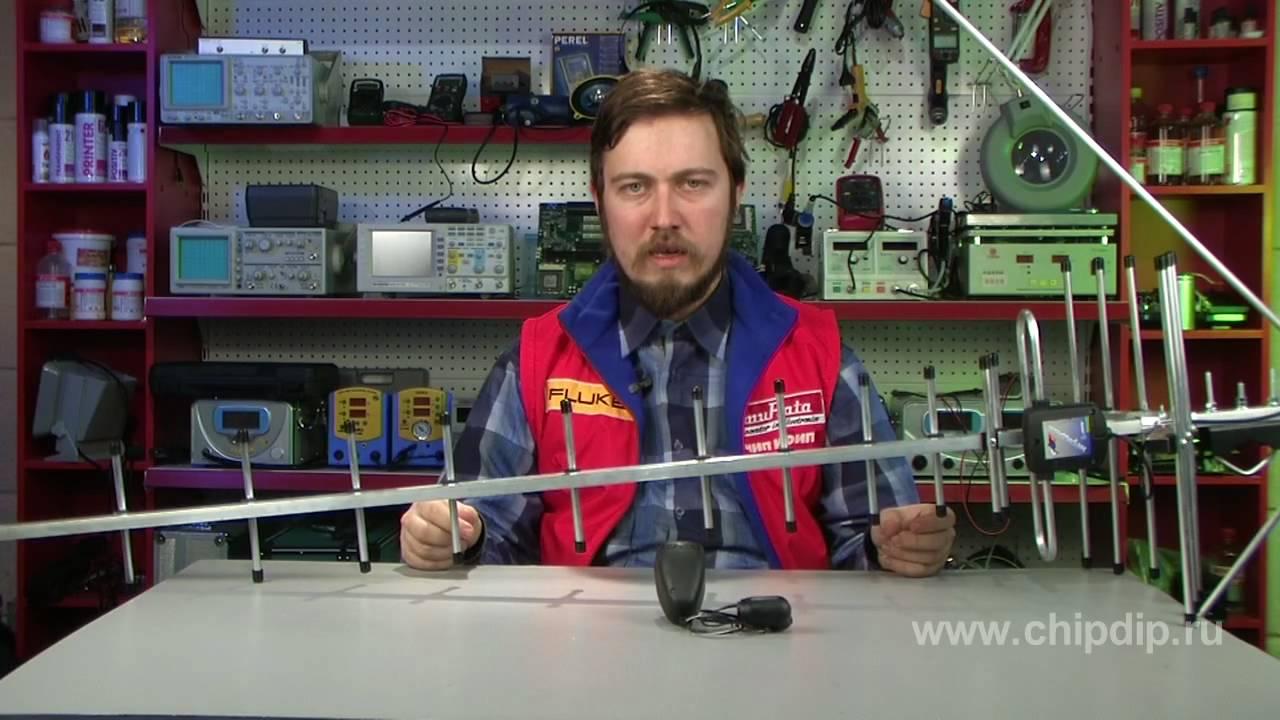 Как подключить кабель к антенне - YouTube