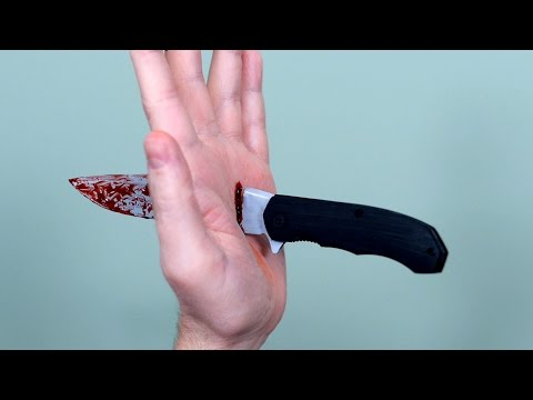 POCKET KNIFE ACCIDENT!