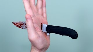 POCKET KNIFE ACCIDENT! thumbnail
