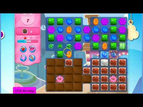 Candy Crush Saga Level 2944 NEW 1 hammer by Cookie