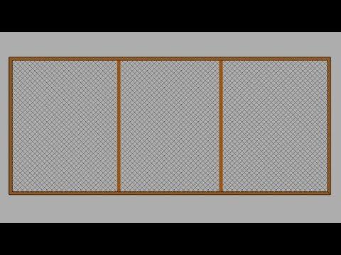Como fazer porta com tela mosquiteira