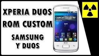 Rom Custom - XPERIA DUOS no Galaxy Y DUOS - (100% FUNCIONAL) + CWM    Como instalar rom customizada