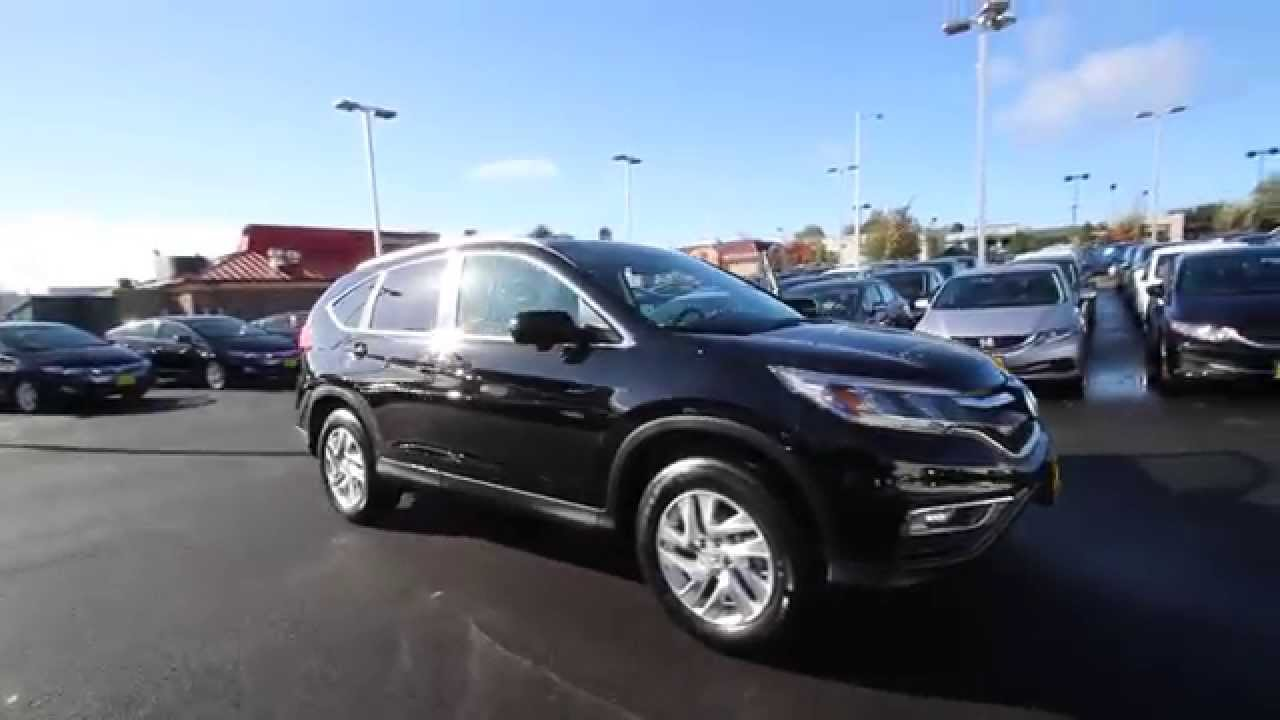 2014 Honda Crv >> 2015 Honda CR-V EX-L | Crystal Black | FL004929 | Seattle | Renton - YouTube