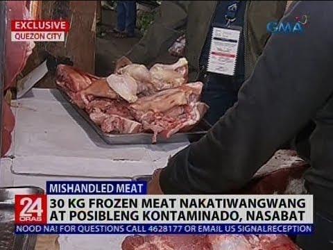 30 Kg Frozen Meat Nakatiwangwang At Posibleng Kontaminado, Nasabat