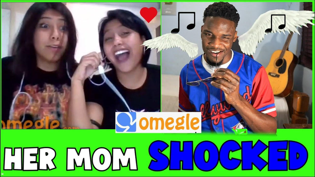 """"""" Omegle Singing To Mom's Then Asking To Date their Daughters """" ( Omegle Singing Reactions )"""
