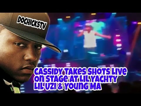 Cassidy Disses Young MA Live On Stage In Brooklyn | DocHicksTv