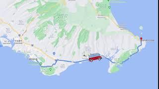 No.6 와이키키에서 마카푸 포인트로 차량이동-하와이 …