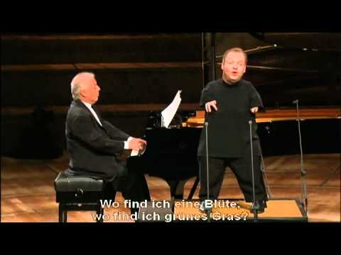 (Schubert)Winterreise: Thomas Quasthoff & Daniel Barenboim - Erstarrung
