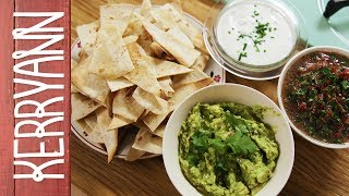 Homemade Nachos And Dips | Kerryann Dunlop