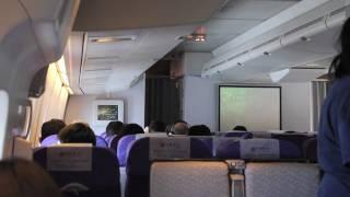 AIR CHINA, San Francisco to Beijing SFO-PEK  Flight 986