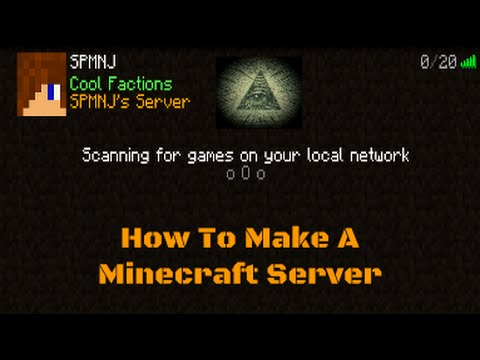 How to get your own Server and port forward it.