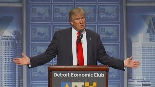 Watch Donald Trump's Speech on the Economy, in 3 Minutes