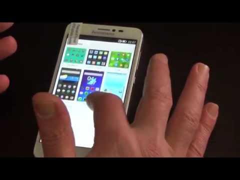Установка темы с ногтями на Lenovo s850