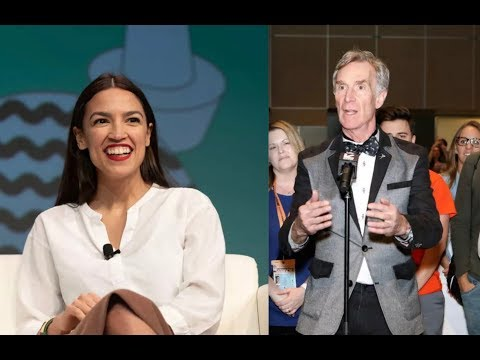 Bill Nye shows up at SXSW with epic surprise for Ocasio-Cortez