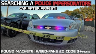 Searching A Police Impersonators Chevy Impala after Arrest! Crown Rick Auto thumbnail