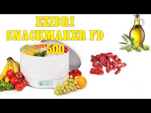 #50 ОБЗОР СУШИЛКИ Ezidri Snackmaker FD 500! ГОТОВИМ ВЯЛЕНЫЕ ТОМАТЫ!