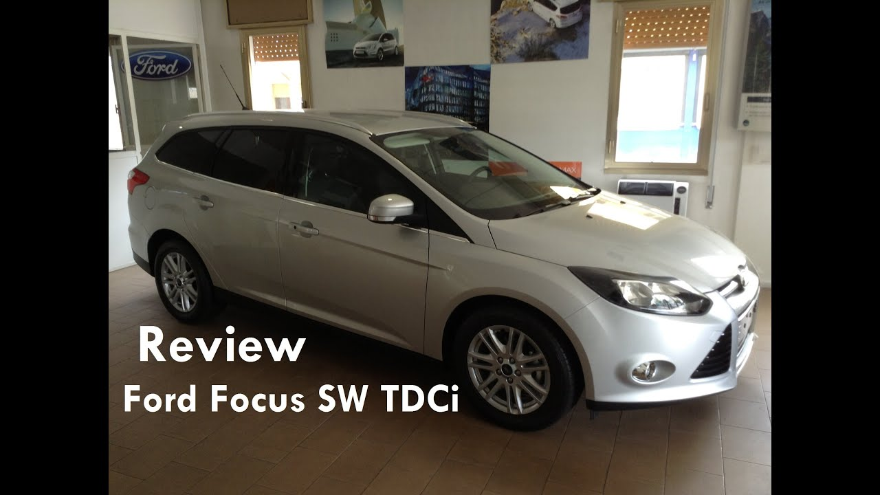 2013 ford focus sw tdci review recensione ford focus sw tdci youtube. Black Bedroom Furniture Sets. Home Design Ideas