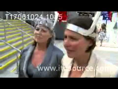 Ascot Hat 2010  London Tonight On ITV London 4