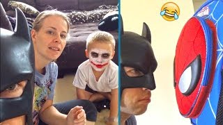 TRY NOT TO LAUGH - Funniest BatDad Vines Compilation (Impossible!) | BEST VINES