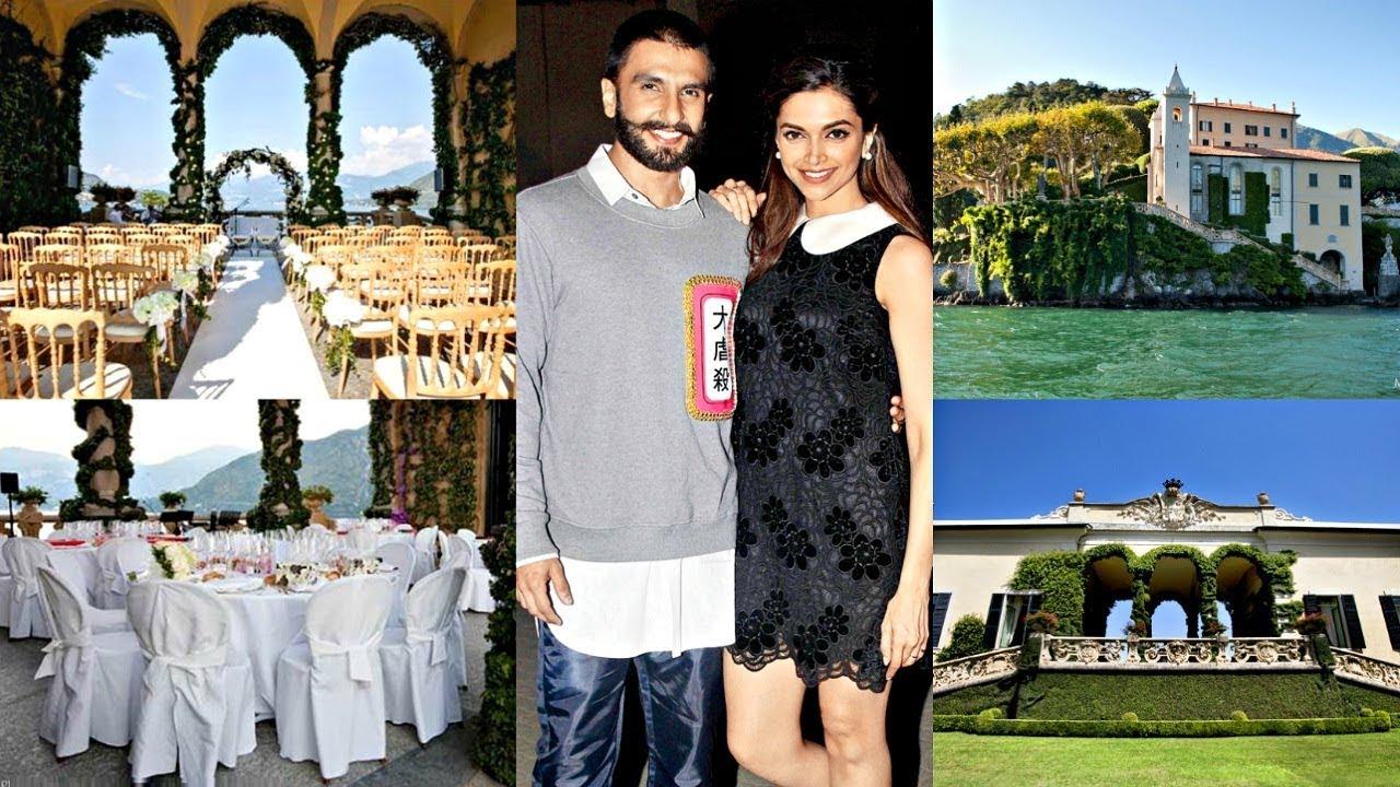 Deepika Padukone And Ranveer Singh Wedding Venue In Italy ...