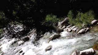 木曽妻籠宿の蘭川(アララギ川)