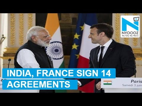 India, France Sign 14 Agreements Including Defence, Nuke Reactors | NYOOOZ TV