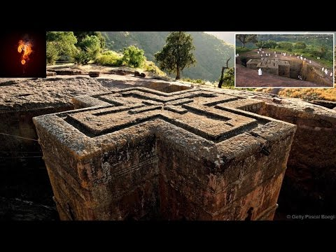 Templar Church Found In Ethiopia? Carved Into The Ground!