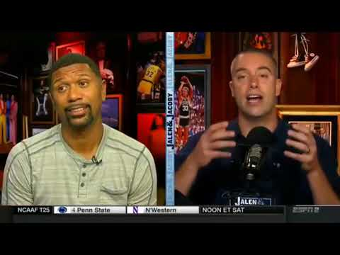 Jalen Rose reacts to NBA GMs pick LeBron James to win MVP
