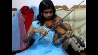 Manjal prasadavum Nettiyil Charthi by Abha (Disciple of Violinist P Chidambaranath).