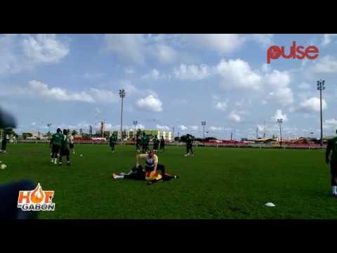 Ghana Blackstars final training ahead of their clash with Egypt