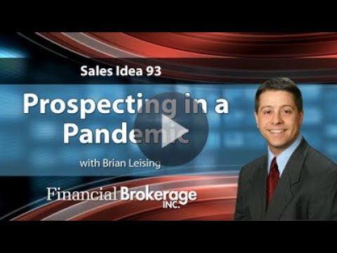 Sales Idea - Prospecting in a Pandemic