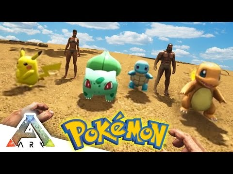 Pokemon Replace Dinosaurs in New Ark: Survival Evolved Mod - GameSpot