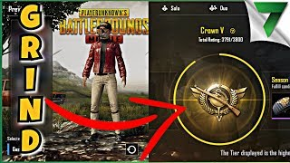 RANKING UP CROWN! GRIND STREAM CHILL STREAM | PUBG MOBILE